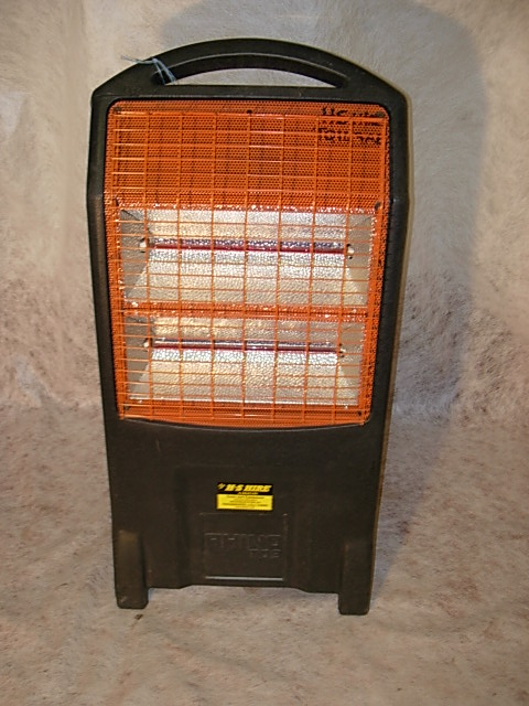 HEATER HALOGEN RED RAD (DOUBLE)