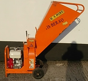WOODCHIPPER 75MM PETROL